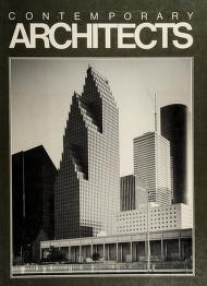 Cover of: Contemporary architects |