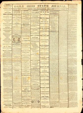 Daily Ohio State journal by Wm. T. Coggeshall & Co