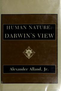 Cover of: Human nature, Darwin's view | Charles Darwin
