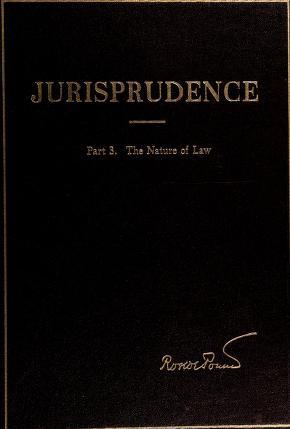 Cover of: Jurisprudence | Roscoe Pound