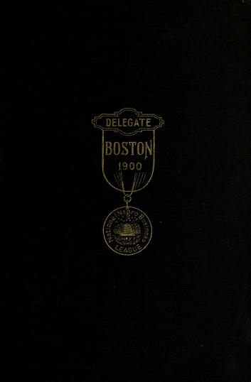 Proceedings of the National Negro Business League by National Negro Business League (U.S.)