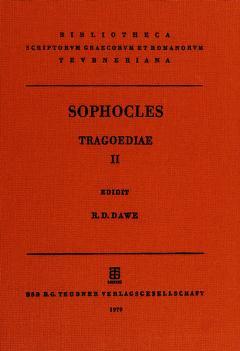 Cover of: Sophoclis tragoediae | Sophocles